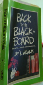 Back to the Blackboard af Jay Edward Adams