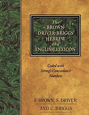 Brown-Driver-Briggs Hebrew and English…