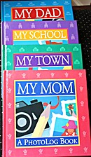 Photo Log Books: My Mom, My Dad, My School,…