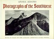 Photographs of the Southwest av Ansel Adams