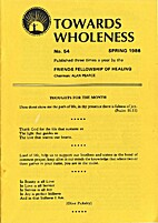 Towards wholeness, № 54, Spring 1986 by…