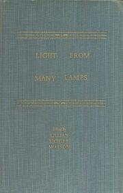 Light from many lamps de Lillian Eichler…