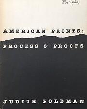 American prints : process & proofs –…