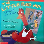 The Little Red Hen (Makes a Pizza) por…