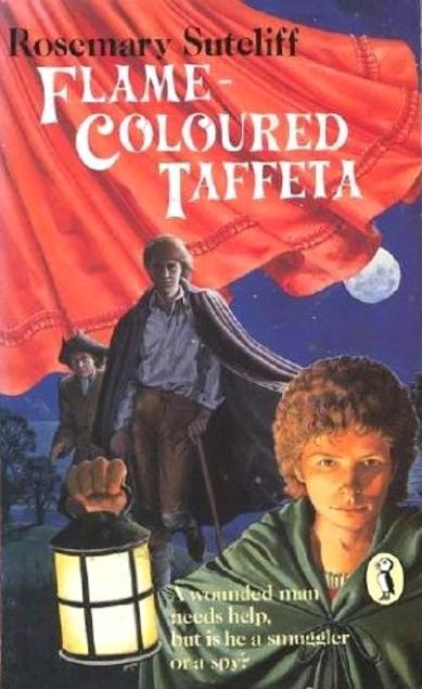 Flame-Coloured Taffeta cover
