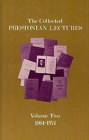 The Collected Prestonian Lectures, Volume…