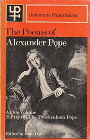 The Poems of Alexander Pope (University…