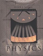Fundamentals of College Physics av Peter J.…