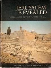 Jerusalem Revealed: Archaeology in the Holy…