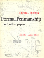 Formal penmanship and other papers; de…