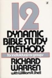 Twelve Dynamic Bible Study Methods av…