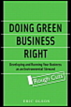 Doing Green Business Right: Developing and…