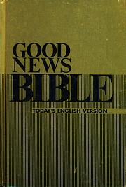 Good news Bible : today's English version