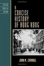 A concise history of Hong Kong de John M.…