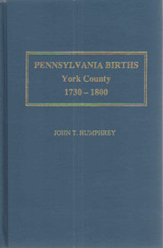 Pennsylvania births, York County, 1730-1800…
