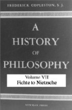 A History of Philosophy, Vol. 7 : Modern…