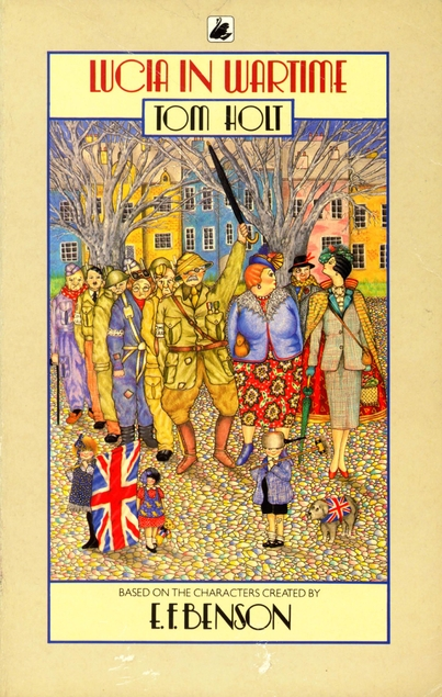 Lucia in Wartime cover
