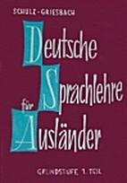 Deutsche Sprachlehre für Ausländer:…