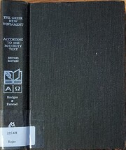The Greek New Testament According to the…