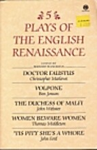 Five Plays of the English Renaissance by…