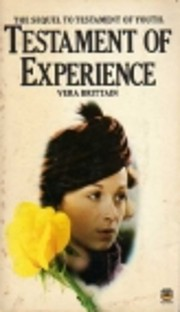 Testament of Experience: An Autobiographical…