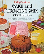 Betty Crocker's cake and frosting mix…