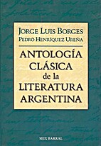 Antología clásica de la literatura…