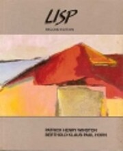 LISP door Patrick Henry Winston