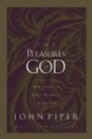 Pleasures Of God, The (new Edition) de Piper…