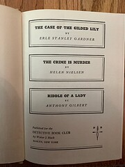 Case of the Gilded Lily, The Crime Is…