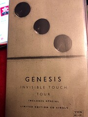 Genesis: Invisible Touch Tour (Live) [VHS]…
