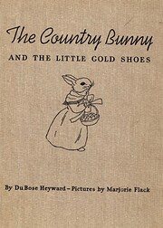 The country bunny and the little gold shoes…