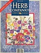 Herb Companion Magazine 1992 April
