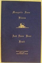 Mesquite Does Bloom de Albert M. Schreiber