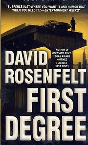 First Degree – tekijä: David Rosenfelt