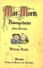 Max and Moritz by Wilhelm Busch