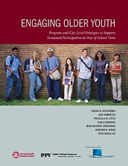 Engaging Older Youth; Program can City-Level…