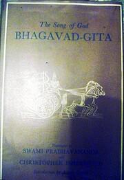 The Song of God Bhagavad-Gita – tekijä:…