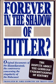 Forever in the Shadow of Hitler?: Original…