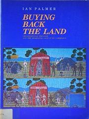 Buying back the land: Organisational…