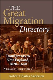The Great Migration Directory: Immigrants to…