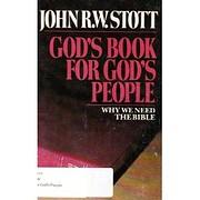 God's book for God's people por…
