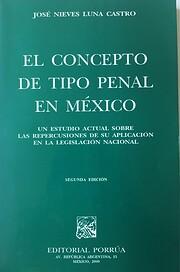 CONCEPTO DE TIPO PENAL EN MEXICO, EL av Jose…