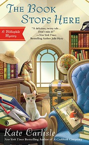 The Book Stops Here (Bibliophile Mystery)…