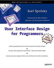 User Interface Design for Programmers av…
