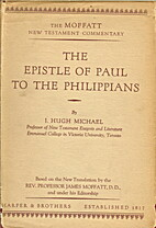 The Epistle of Paul to the Philippians by J.…