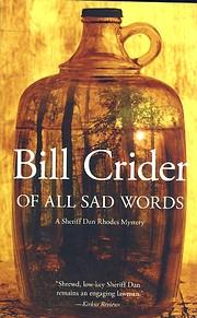 Of all sad words af Bill Crider