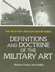 Definitions and doctrine of the military art…