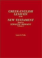Greek-English Lexicon of the New Testament:…