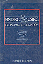 Finding & Using Economic Information: A…
